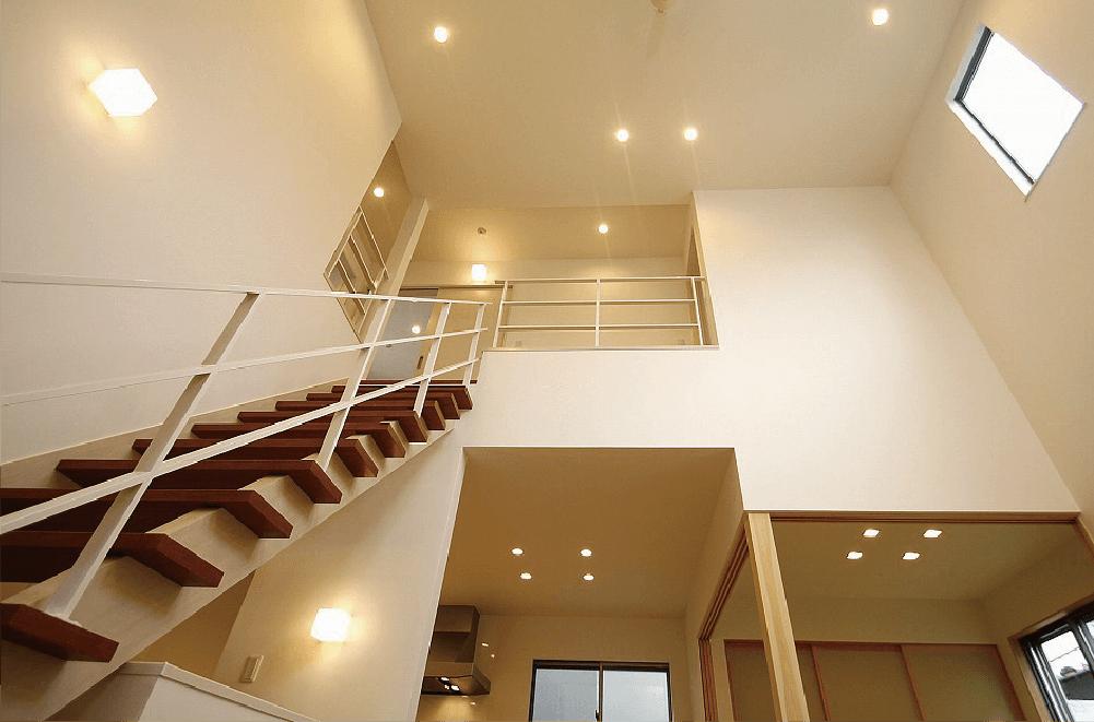 階段が家族のコミュニケーションを作る家